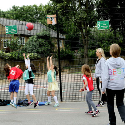 Ark Priory Y2 & Y3 Netball Club